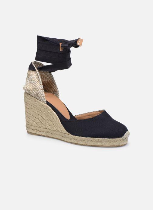 Espadrillos Castaner Carina H8 Blå detaljeret billede af skoene