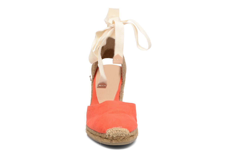 Espadrilles Castaner Carina H8 Rouge vue portées chaussures