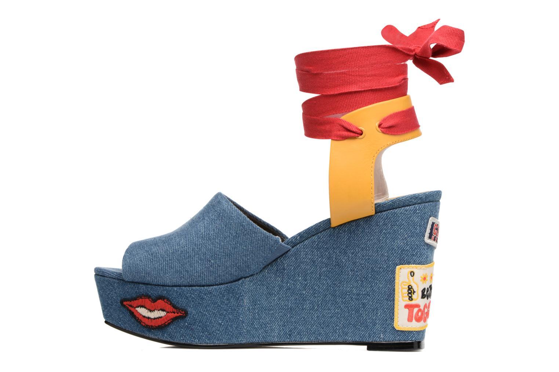 Sandales et nu-pieds Tommy Hilfiger Gigi Hadid Wedge Multicolore vue face