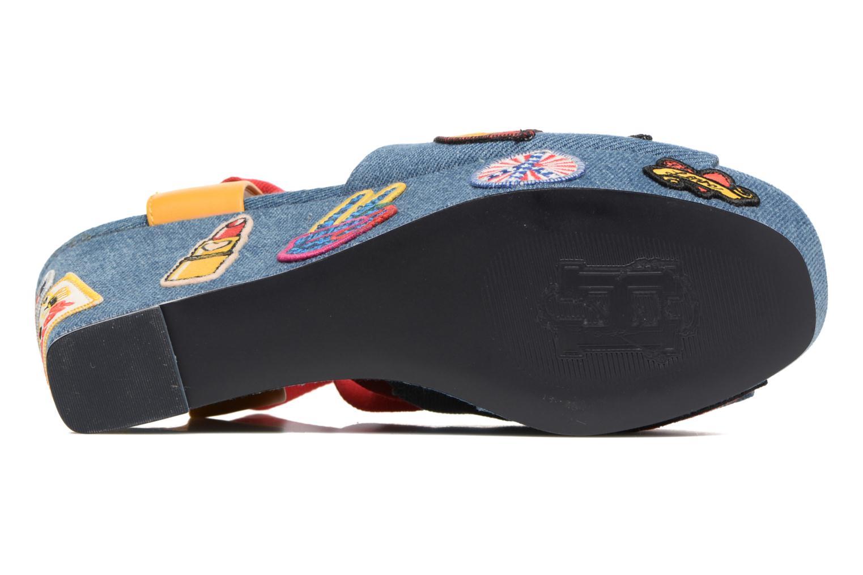 Sandales et nu-pieds Tommy Hilfiger Gigi Hadid Wedge Multicolore vue haut