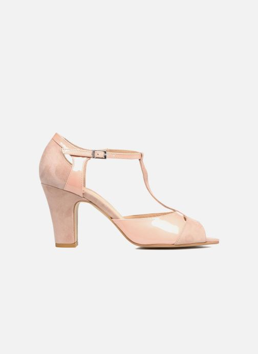 Sandales et nu-pieds Perlato Volantis Rose vue derrière