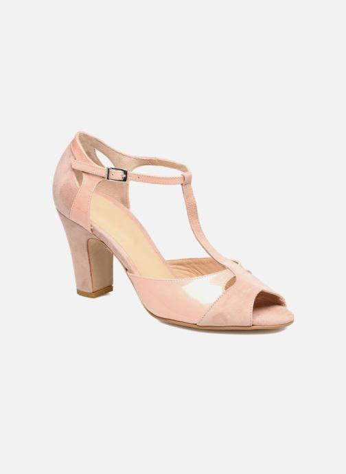 Sandales et nu-pieds Perlato Volantis Rose vue détail/paire