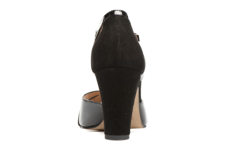 Sandales et nu-pieds Perlato Volantis Noir vue droite