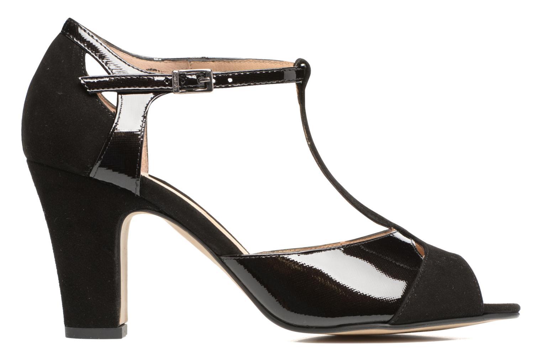 Sandales et nu-pieds Perlato Volantis Noir vue derrière