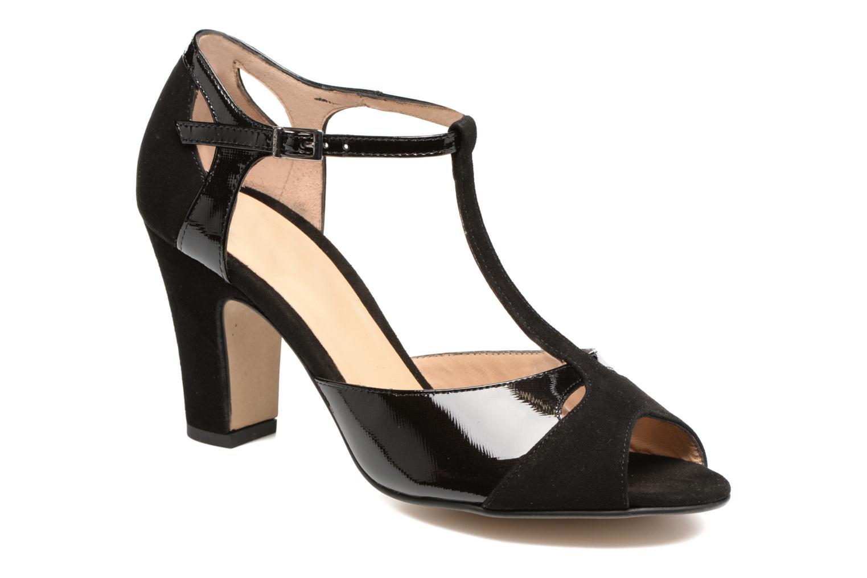 Sandales et nu-pieds Perlato Volantis Noir vue détail/paire