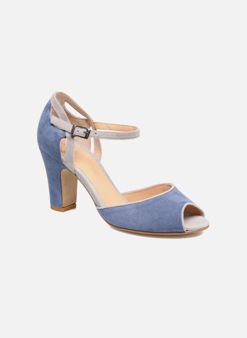 Sandales et nu-pieds Perlato Aladéa Bleu vue détail/paire
