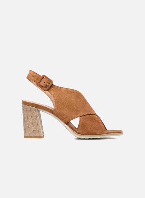 Sandales et nu-pieds Perlato Aslan Marron vue derrière