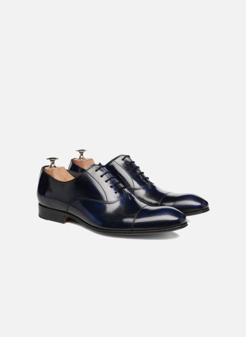 Zapatos con cordones Marvin&Co Luxe Parado - Cousu Blake Azul vista 3/4