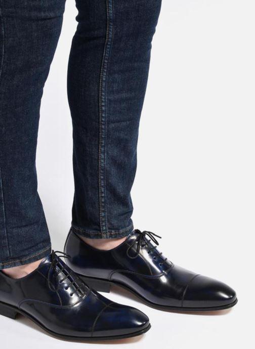 Chaussures à lacets Marvin&Co Luxe Parado - Cousu Blake Bleu vue bas / vue portée sac