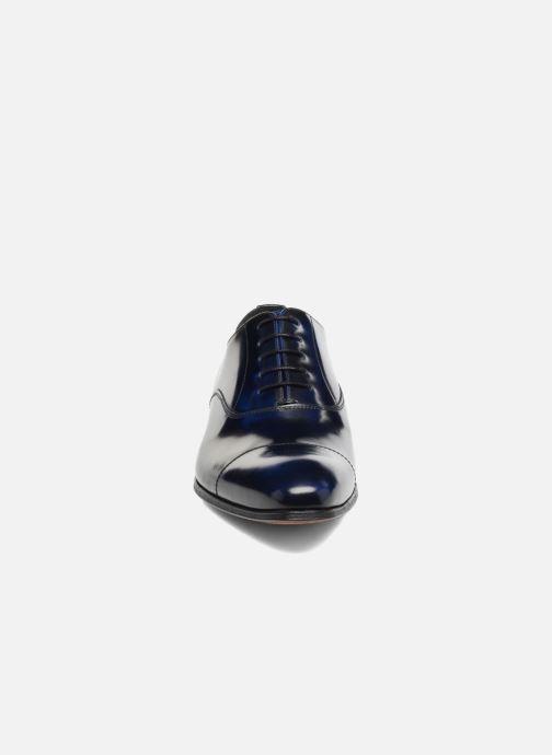 Schnürschuhe Marvin&Co Luxe Parado - Cousu Blake blau schuhe getragen