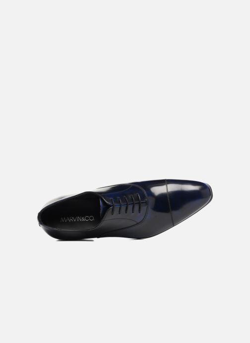 Schnürschuhe Marvin&Co Luxe Parado - Cousu Blake blau ansicht von links