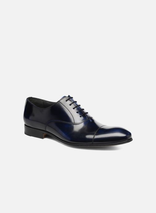 Lace-up shoes Marvin&Co Luxe Parado - Cousu Blake Blue detailed view/ Pair view