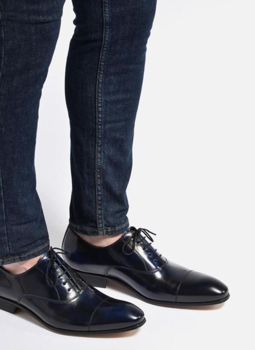 Lace-up shoes Marvin&Co Luxe Parado - Cousu Blake Burgundy view from underneath / model view