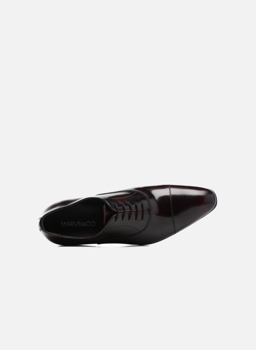 Zapatos con cordones Marvin&Co Luxe Parado - Cousu Blake Vino vista lateral izquierda