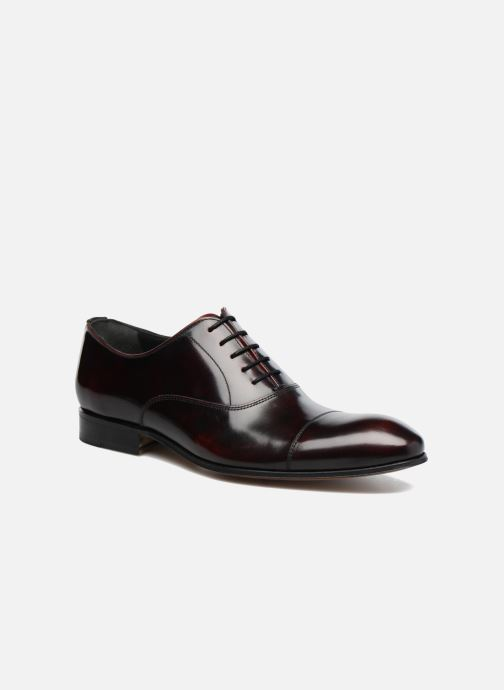 Lace-up shoes Marvin&Co Luxe Parado - Cousu Blake Burgundy detailed view/ Pair view