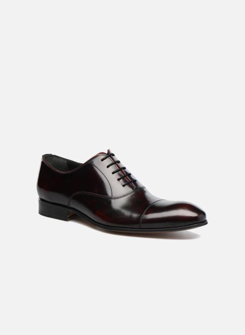 Snøresko Marvin&Co Luxe Parado - Cousu Blake Bordeaux detaljeret billede af skoene