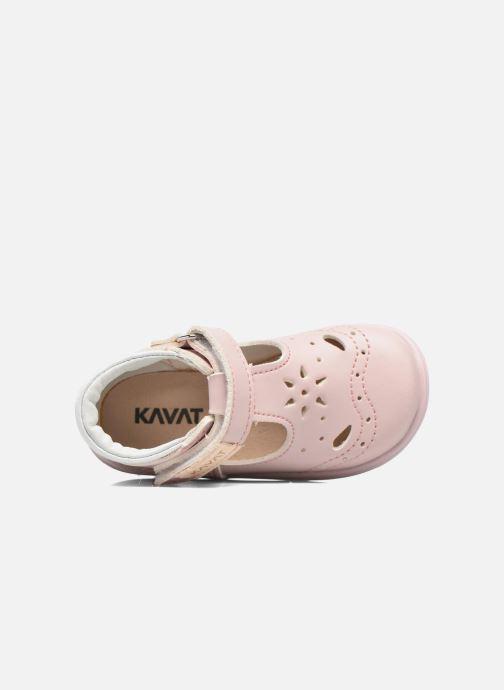 Sandales et nu-pieds Kavat Angskar XC Rose vue gauche