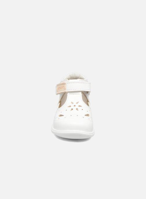 Sandalen Kavat Angskar XC weiß schuhe getragen