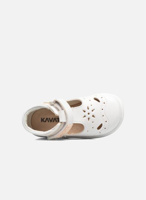 Sandales et nu-pieds Kavat Angskar XC Blanc vue gauche