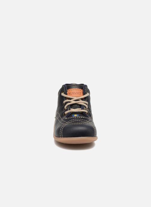 Bottines et boots Kavat Edsbro EP Bleu vue portées chaussures