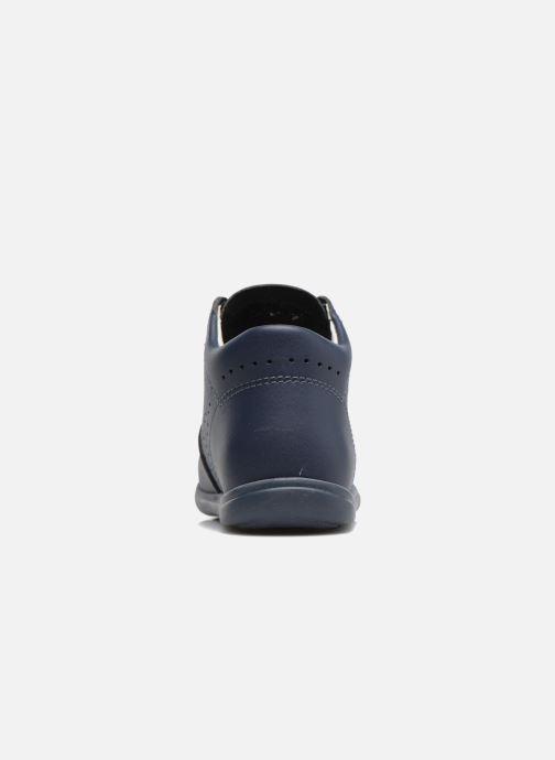 Zapatos con cordones Kavat Edsbro XC Azul vista lateral derecha