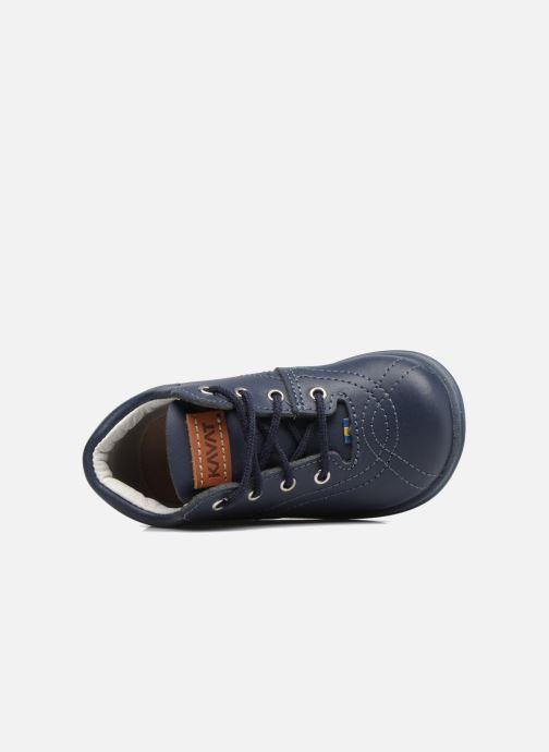 Zapatos con cordones Kavat Edsbro XC Azul vista lateral izquierda