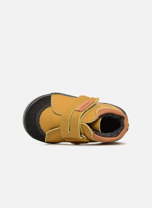 Sneakers Kavat Fiskeby XC Gul bild från vänster sidan