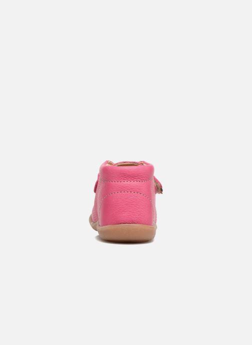 Chaussures à scratch Kavat Hammar EP Rose vue droite