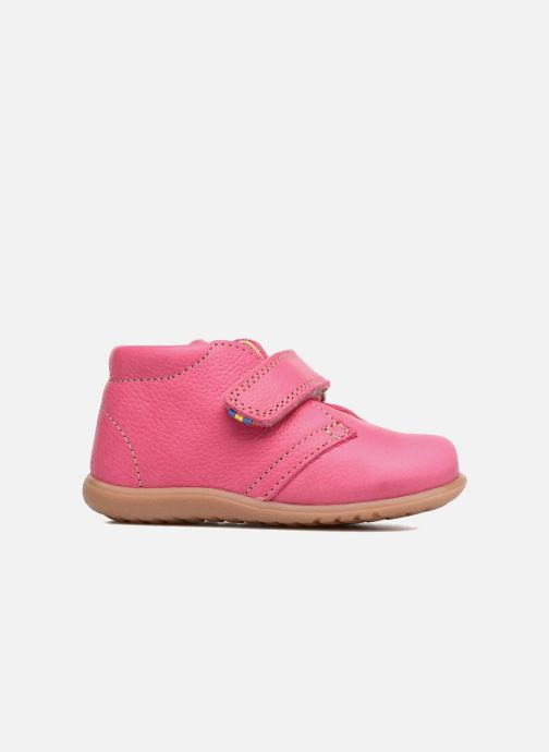 Velcro shoes Kavat Hammar EP Pink back view