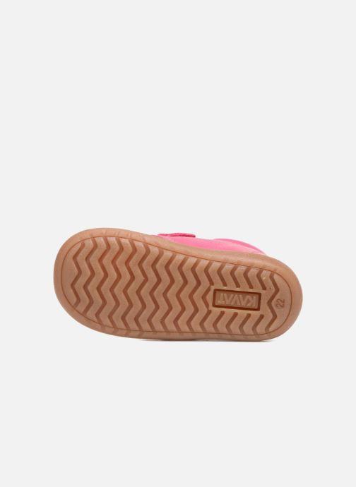 Chaussures à scratch Kavat Hammar EP Rose vue haut