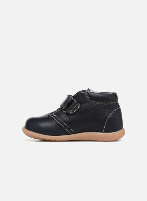 Zapatos con velcro Kavat Hammar EP Azul vista de frente