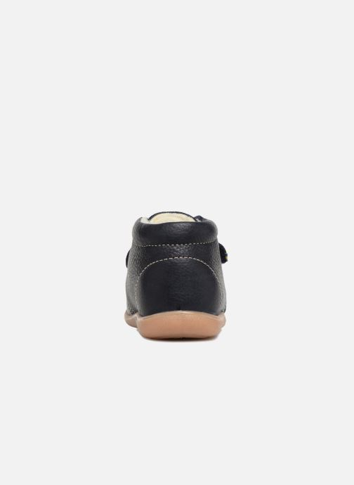 Zapatos con velcro Kavat Hammar EP Azul vista lateral derecha