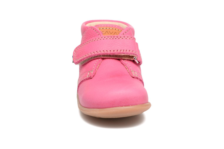 Chaussures à scratch Kavat Hammar EP Rose vue portées chaussures