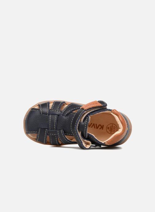 Sandales et nu-pieds Kavat Rullsand EP Bleu vue gauche