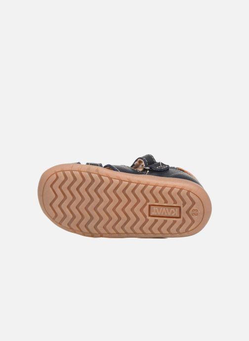 Sandales et nu-pieds Kavat Rullsand EP Bleu vue haut
