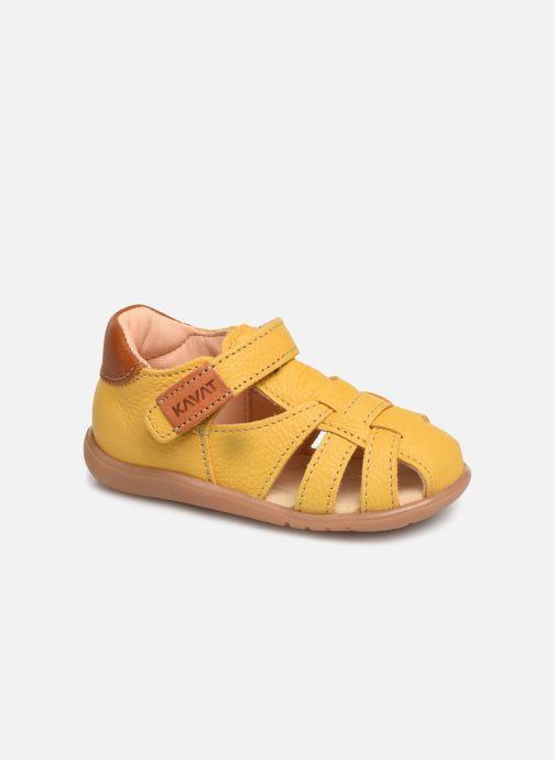 Sandaler Kavat Rullsand EP Gul detaljeret billede af skoene