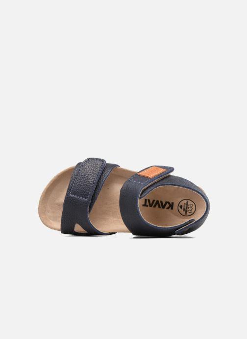 Sandali e scarpe aperte Kavat Bomhus EP Azzurro immagine sinistra
