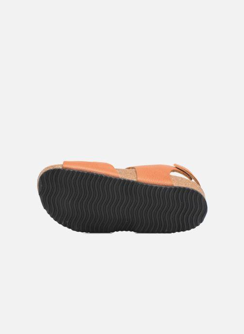 Sandales et nu-pieds Kavat Bomhus EP Marron vue haut