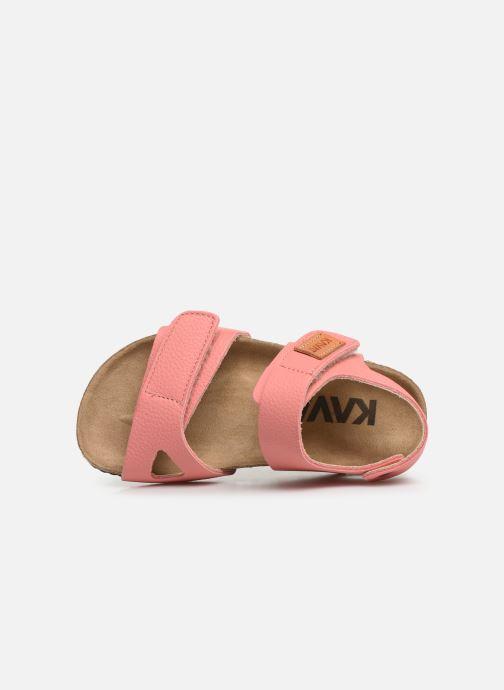 Sandales et nu-pieds Kavat Bomhus EP Rose vue gauche