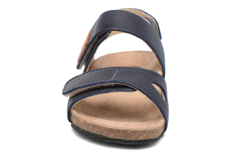 Sandales et nu-pieds Kavat Bomhus EP Bleu vue portées chaussures