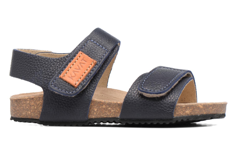 Sandales et nu-pieds Kavat Bomhus EP Bleu vue derrière