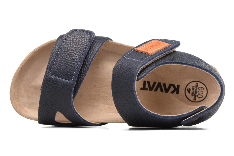 Sandales et nu-pieds Kavat Bomhus EP Bleu vue gauche