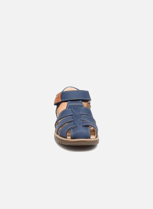 Sandales et nu-pieds Kavat Hallevik EP Bleu vue portées chaussures