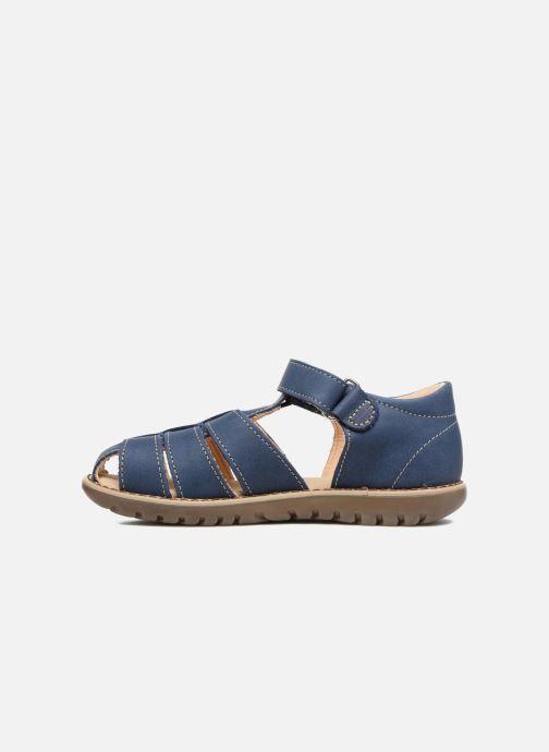 Sandales et nu-pieds Kavat Hallevik EP Bleu vue face