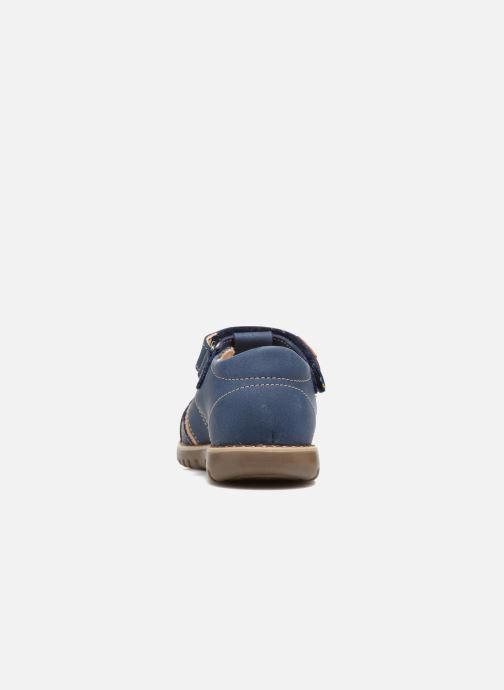 Sandales et nu-pieds Kavat Hallevik EP Bleu vue droite