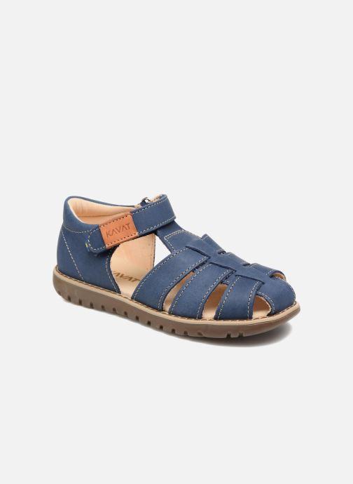 Sandales et nu-pieds Kavat Hallevik EP Bleu vue détail/paire