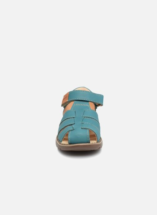 Sandales et nu-pieds Kavat Hallevik EP Vert vue portées chaussures