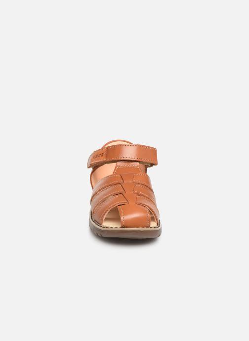 Sandales et nu-pieds Kavat Hallevik EP Marron vue portées chaussures