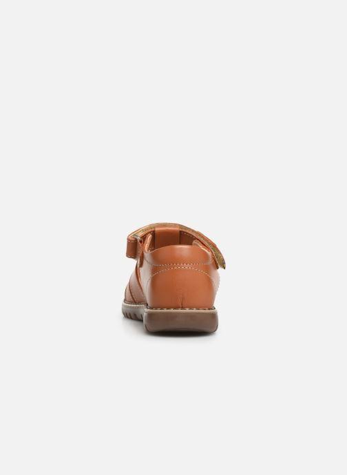 Sandales et nu-pieds Kavat Hallevik EP Marron vue droite