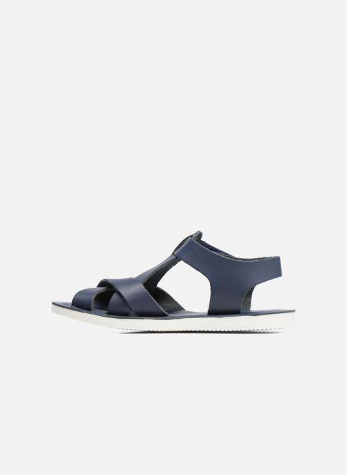 Sandales et nu-pieds Kavat Nynas XC Bleu vue face